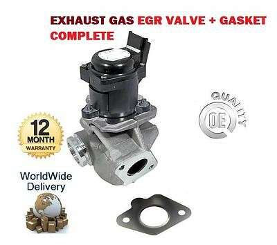 For Citroen Dispatch Picasso 1.6 Hdi 2004-> New Exhaust Gas Egr Valve 1682737