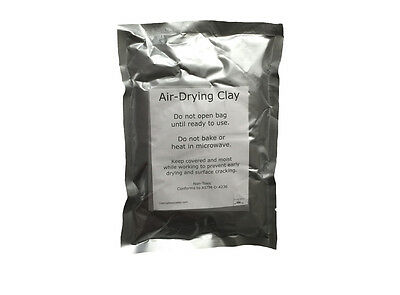 15oz No Bake Air Dry Clay for Infant Child - Impression Hand Foot Print - White