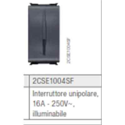 Abb 2Cse1004Sf Interruttore 1P 16A Illuminabile Elos Soft