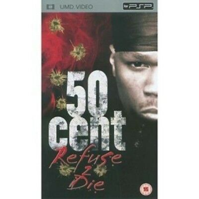 50 Cent - Refuse 2 Die  DVD UMD Mini for PSP