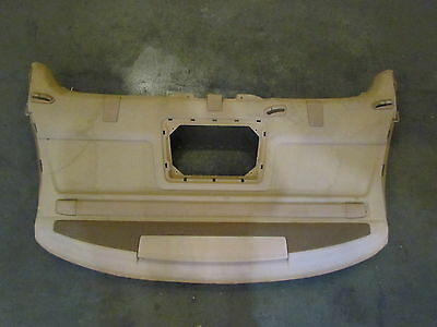 2006 Audi A8L Rear Parcel Shelf With Window Shade And 3rd Brake Light. See Pics.