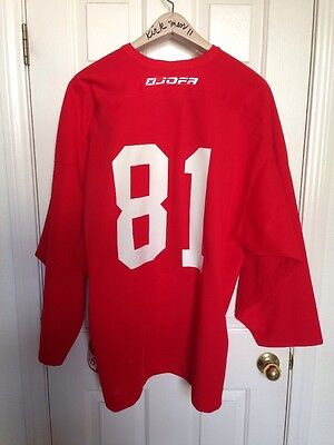 a76b2f22a Ny Rangers Pro Lady Liberty Jofa Center Ice Practice Hockey Jersey Sz 56 -    81