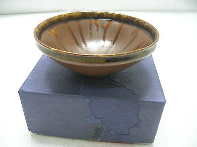 Japanese Tea Ceremony Bowl Chanoyu Traditional Vintage Pottery #72