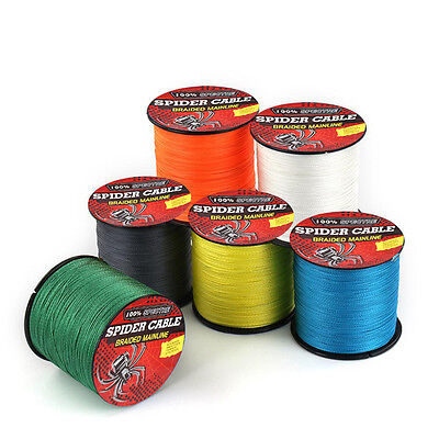 100M 300M 500M 1000M  100%Pe 4 Strands Dyneema Spectra Fishing Braid Line