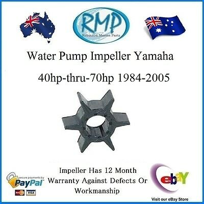 A New Water Pump Impeller Yamaha 40hp-thru-70hp 1984-2005 # R 6H3-44352-00