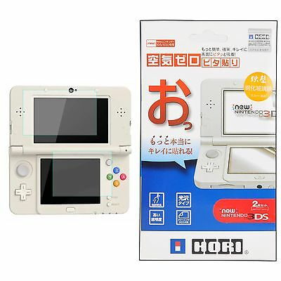2in1 Top Tempered Glass Protect Film+Bottom Protector Cover for Nintendo New 3DS