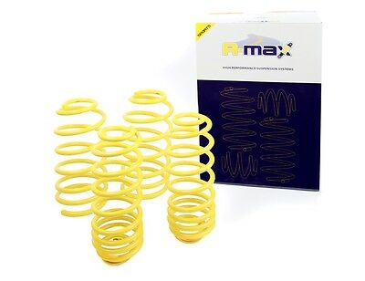 Fits BMW E46 318I-330I Incl. Compact 1998-On - A-max Lowering Spring Kit -35mm
