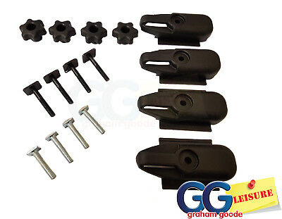 T Track Bolts for Roof Top Box Luggage Carrier Fits Thule Aluminium Aero WingBar