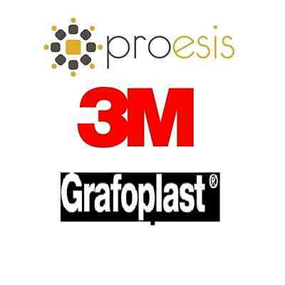 3M Grafoplast KE727002484 206/15 - TUB.ART.206 15MM 200PZ