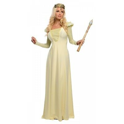 Deluxe Glinda Costume Oz The Great and Powerful Wizard Halloween Fancy Dress