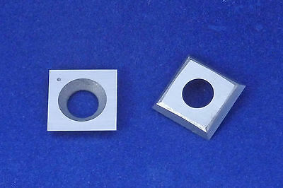 "Square 15mm (19/32"") Carbide Insert Cutter for Woodturning Chisels"
