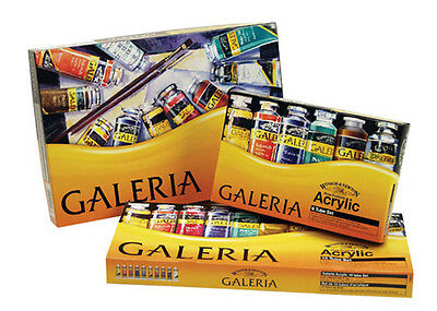 Winsor & Newton Galeria Acrylic Paint Tubes Sets - Choose 20ml or 60ml
