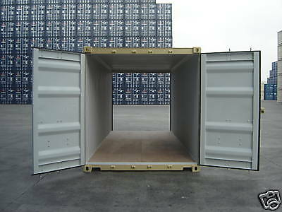 Storage Containers New 20' Dd Shipping Cargo Container