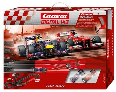 Carrera Digital 143 Top Run 2.4 GHz Wireless+ slot car race set 40025