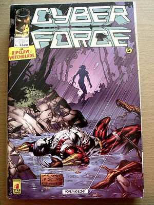 CYBER FORCE n°37 1996 - Witchblade e RIPCLAW ed. Image Star Comics  [SP17]