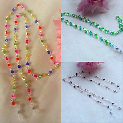 Beaded GLASSES  Neck Lanyard Cord CHAIN Spectacle Spectacles Sunglasses glass