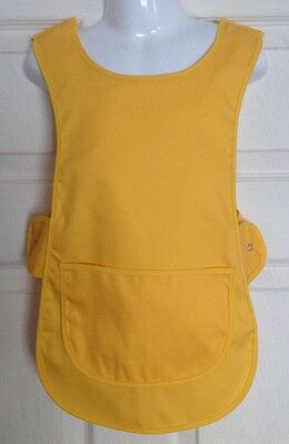 Wholesale Job Lot 20 Brand New Kids Tabard Aprons Yellow Clothes Craft Toddler