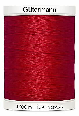 Gutermann Sew-all 100% Polyester Sewing Thread 1000m Colour 156, RED