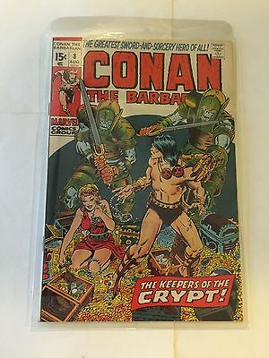 Marvel CONAN THE BARBARIAN #8 BARRY SMITH in Hard Plastic Sleeve EXCELLENT shape