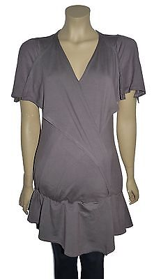 Good Quality Mauve Maternity Tunic Top Various Sizes NWT