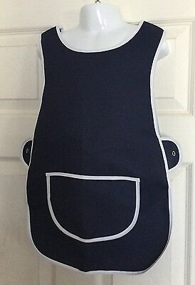 Wholesale Job Lot 20 Brand New Kids Tabard Aprons Navy Clothes Craft Toddler
