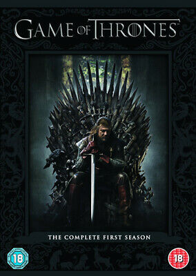 Game of Thrones: The Complete First Season DVD (2012) Sean Bean cert 18 5 discs
