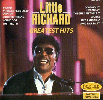 LITTLE RICHARD : GREATEST HITS CD Value Guaranteed from eBay's biggest seller!
