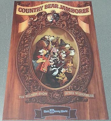 Country Bear Jamboree - Official Walt Disney World Resort Attraction Poster