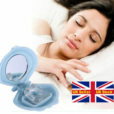 SNORE RELIEF-STOP SNORING- ANTI SNORE DEVICE-Silicone SLEEP AID DEVICE-NEW Stock