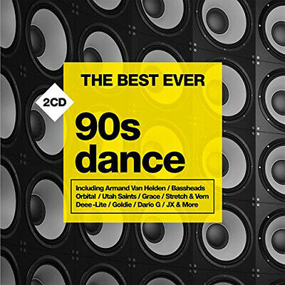 Various Artists : The Best Ever: 90s Dance CD (2015) ***NEW***