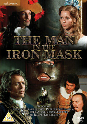 The Man in the Iron Mask DVD (2007) Richard Chamberlain ***NEW***