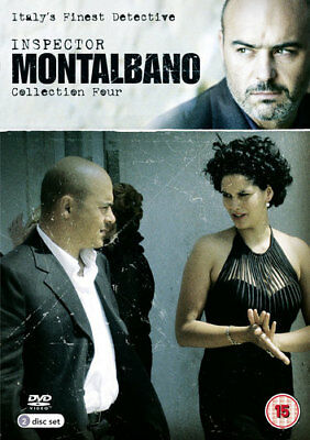 Inspector Montalbano: Collection Four DVD (2013) Luca Zingaretti ***NEW***