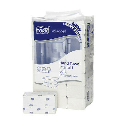 Tork Advanced Hand Towel Interfold H2 System 21 Packs (120289)