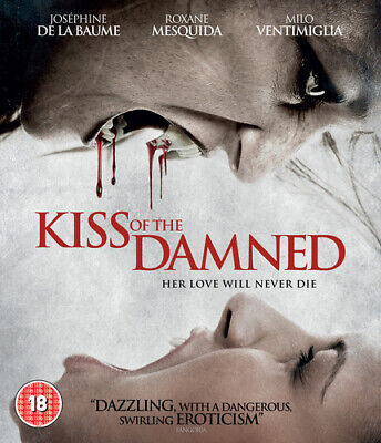 Kiss of the Damned Blu-Ray (2014) Joséphine de La Baume ***NEW***
