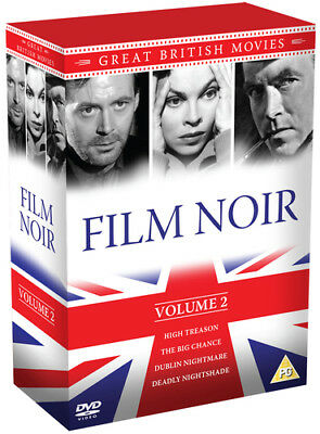 Great British Movies: Film Noir - Volume 2 DVD (2014) Liam Redmond ***NEW***