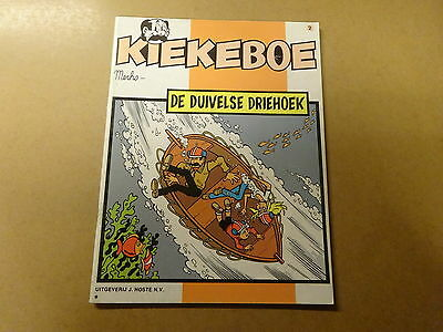 STRIP / KIEKEBOE 2: DE DUIVELSE DRIEHOEK | Herdruk 1982