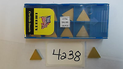 10Pcs Tpg 322 C5C Carbide Inserts  **new** Pic#4238