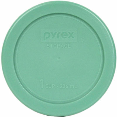"""Pyrex 4"""" Storage Plastic Green Lid Replacement Cover for 1 Cup Bowl 7202-PC New"""
