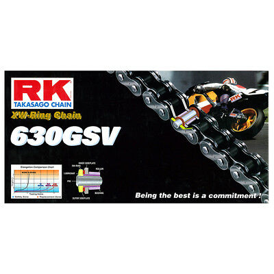Rk Chain 630Gsv-102L-Xw-Ring Supersport / Touring Use Most Motorcycles