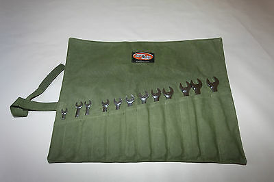 Spanner Tool Roll  Australian made with Australian Canvas.