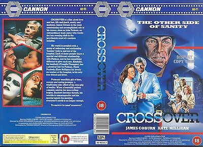 Crossover, James Coburn Video Promo Sample Sleeve/Cover #15471