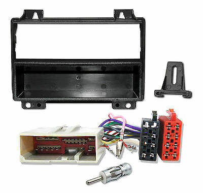FORD Fiesta MK6, Fusion Radio Einbau Set Adapter Radio Blende Kabel