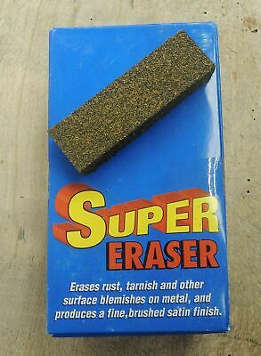 Super Eraser Rust Eraser Rostentferner für Messer und Stahlwaren made in USA