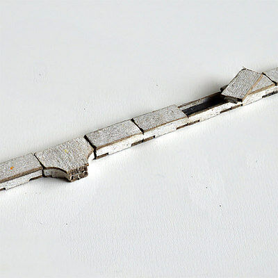 LASER CUT LINESIDE CONCRETE CABLE TRUNKING FOR OO SCALE 4mm MODEL RAILWAY LX035