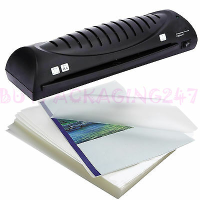 100 x High Quality A3 A4 A5 150 Micron Laminating Laminator Pouches Sheets
