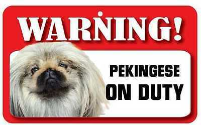 Pekingese Dog Pet Sign DS056
