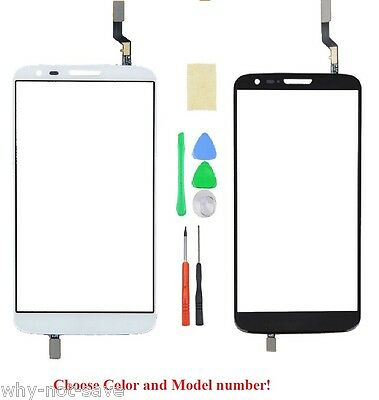 Touch Outer Screen Glass Digitizer replacement Part for LG Optimus G2 with tool