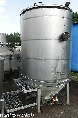 350 Gallon Stainless Steel Insulated Tank w/ Stairs