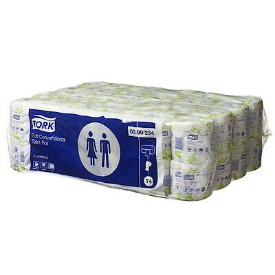 Tork Advanced Toilet Paper 2 Ply 48 Rolls x 400 Sheets (234)