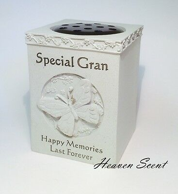 Grave Memorial For Gran Flower Vase Pots Rose Bowl Ornament Funeral Tribute